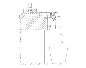 Side veiw - Pull unit